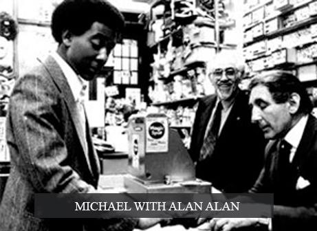 Michael with Alan Alan