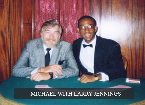 Michael with Larry Jennings