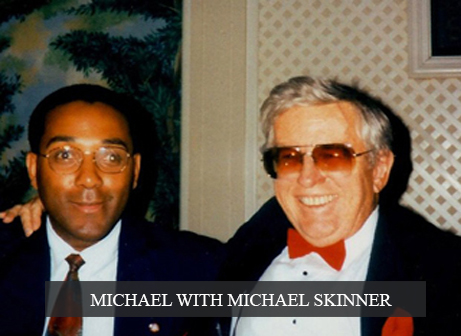 Michael with Michael Skinner