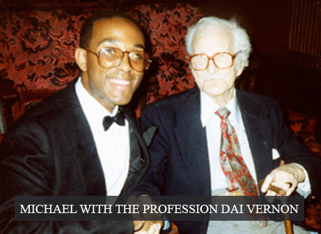 Michael with The Profession Dai Vernon
