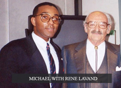 Michael with Rene Lavand
