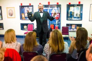hiring a magician